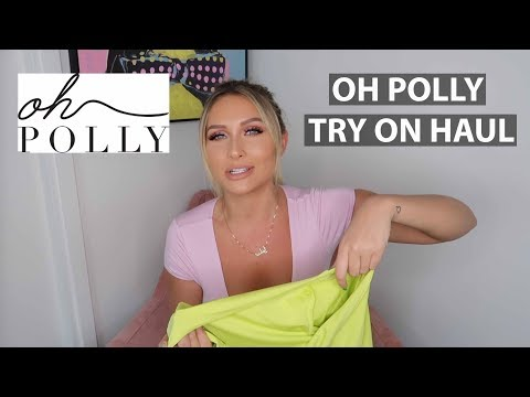 afba10d5053de OH POLLY NEW COLLECTION HAUL   TRY ON - YouTube