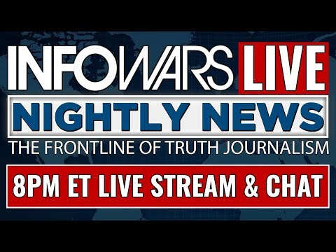 LIVE 📢 INFOWARS Nightly News ► 8pm ET Friday 8/11/17 ► Alex Jones Stream