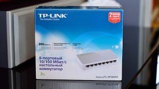 Обзор коммутатора TP-LINK  TL-SF1008D