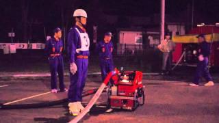 能勢町消防団 片山班 2011.6.21 A-TEAM 訓練風景