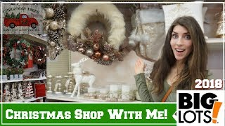 BIG LOTS CHRISTMAS SHOP WITH ME 2018 | CHRISTMAS HOME DECOR | Momma From Scratch