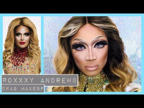 Roxxxy Andrews All Stars Drag Race Makeup ▷ Marc Zapanta