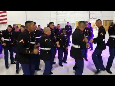 Marines In Dress Blues - Gangnam Style
