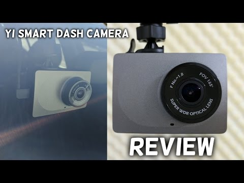 YI Smart Car Dash Camera 1080P REVIEW & Sample Footage