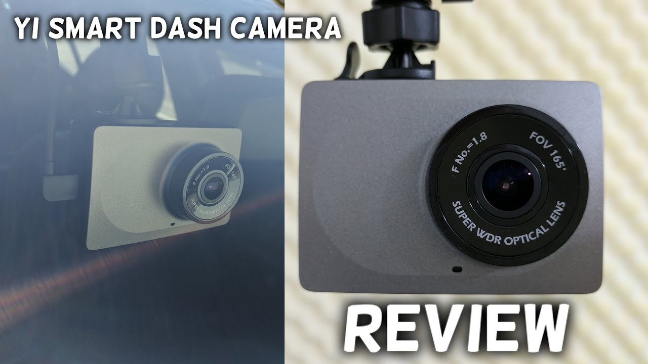 yi smart car dash camera 1080p review sample footage youtube. Black Bedroom Furniture Sets. Home Design Ideas