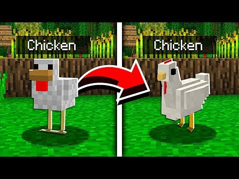 CHANGING THE PE MOBS! (Minecraft Addon Mod)