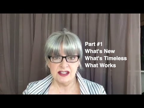 Livestream - What's New, What's Timeless, What Works - Beauty, Hair, Wardrobe