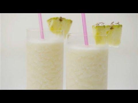 How to Make a Pina Colada!