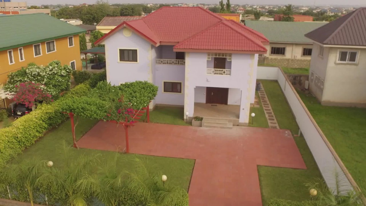 5 Bedroom In A Gated Community For Sale At Oyarifa Accra Ghana Call Us On 0244 764282 If Interested Youtube