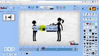 Powtoon - инструмент для создания анимированных презентаций.