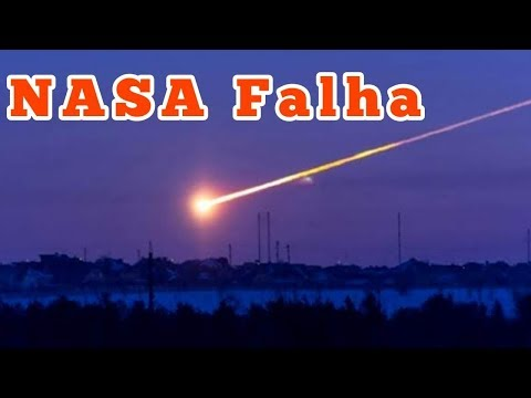 NASA Falha e Asteroide Explode na Atmosfera thumbnail
