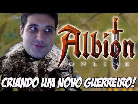 Criando um novo guerreiro – Albion Online
