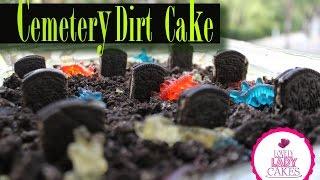 Cemetery Dirt Cake | Halloween Collab