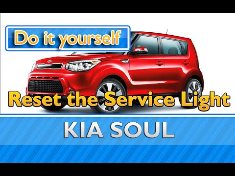 How To Reset The Service Light On A Kia Soul Youtube