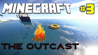 Minecraft - The Outcast | SHIPWRECKS AND RUINS! - Survival Map [Ep 3]