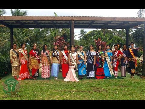 Miss Helilala Pageant Interviews - Heilala Festival 2017 - Tonga Masani!