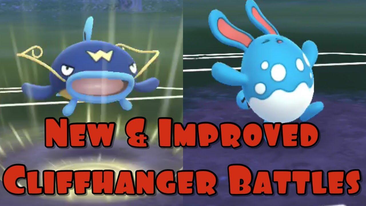 Cliffhanger Practice vs Caleb Peng - Pokemon Go - Go Stadium