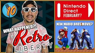 February Nintendo Direct, A NEW Mario Movie & Retroliberty | ETPodcast / Aaron Stapish