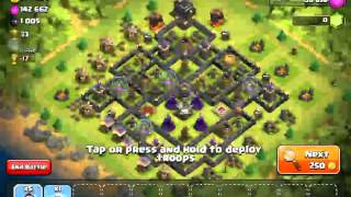 How to do wall paper and gameplay of clash of clans