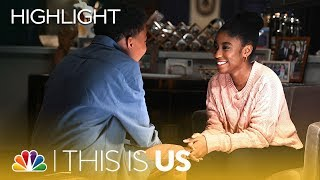 Deja and Malik39s First Kiss - This Is Us Episode Highlight