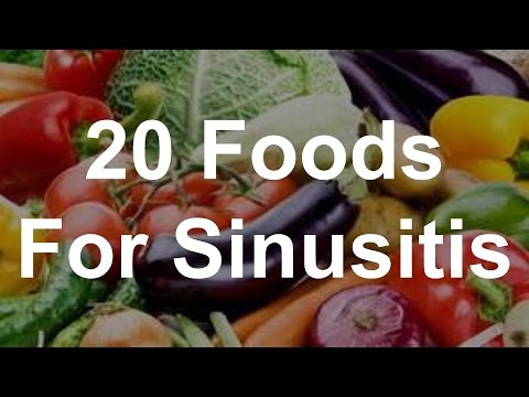 20 Foods For Sinusitis - Foods That Help Sinusitis