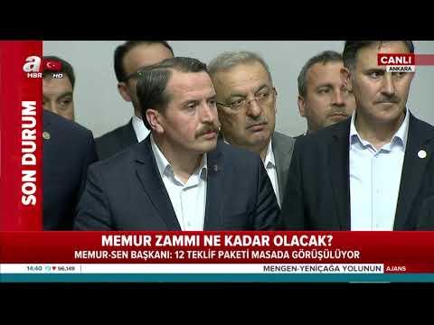 Memur-Sen Başkanı Ali Yalçın'dan memur maaş zammı açıklaması!