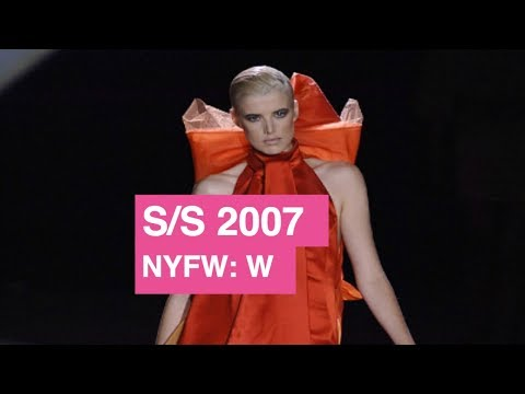 Zac Posen Spring / Summer 2007 Women's Runway Show | Global Fashion News