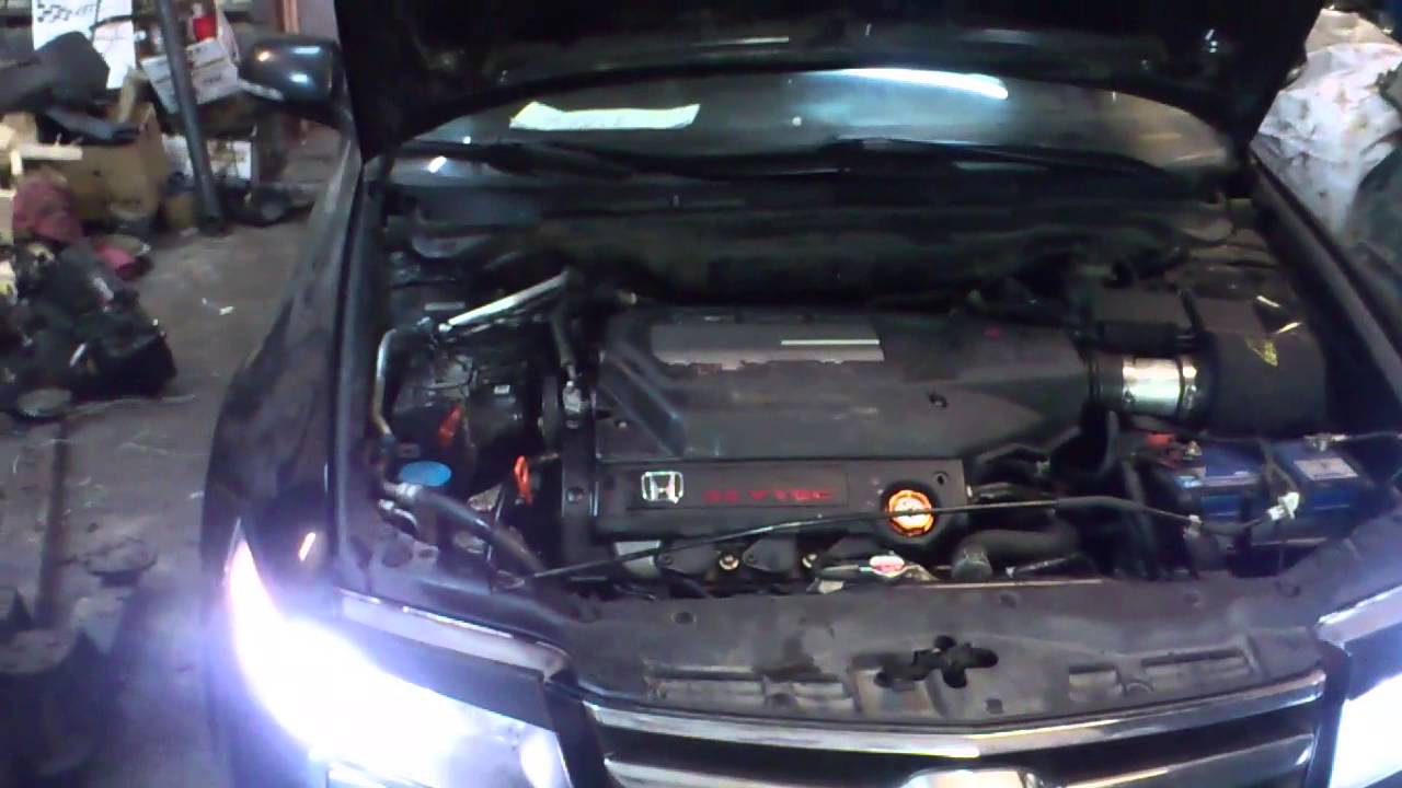 Honda Accord cl7 ( Acura TSX ) swap j32a typeS in Boks3, Moscow