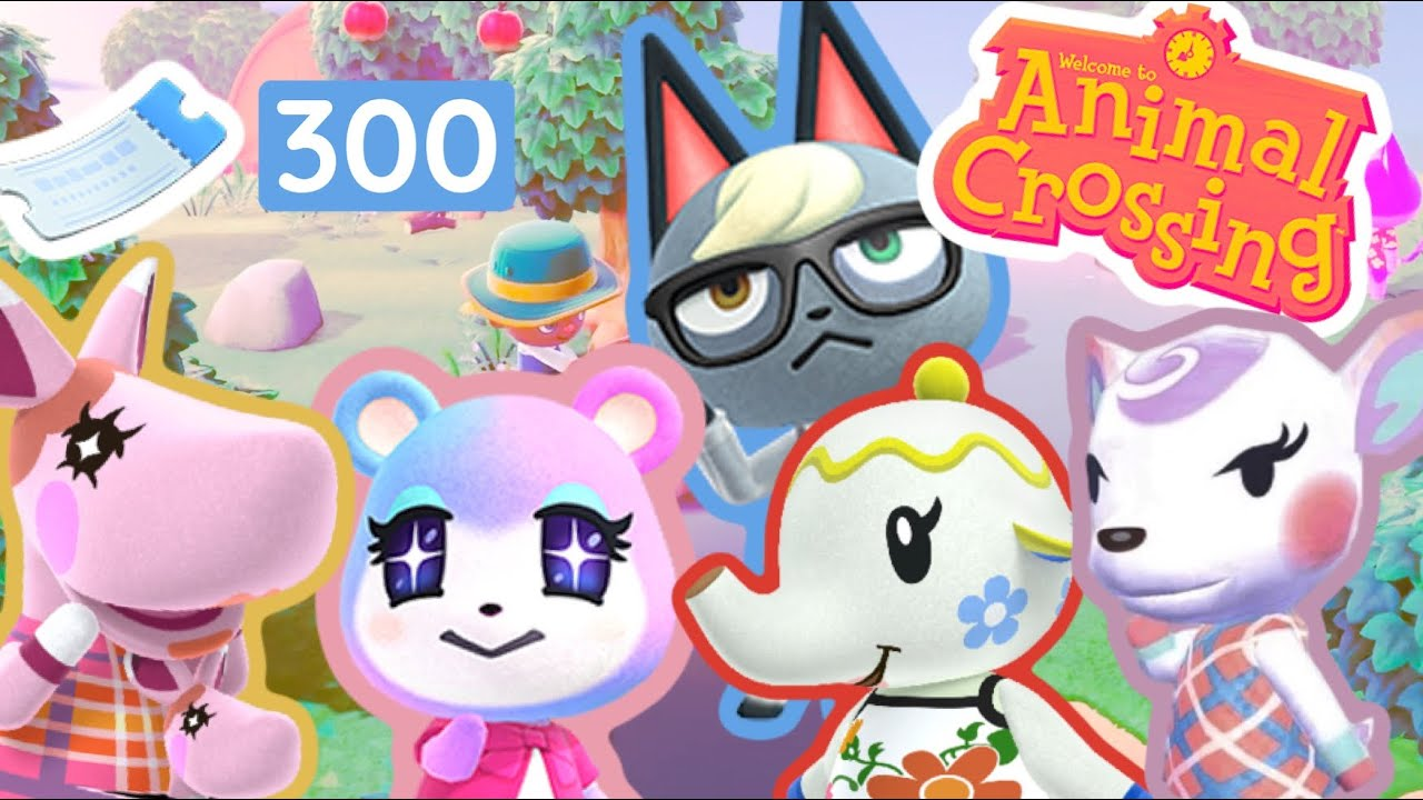 Spending 300 Nook Miles Tickets Hunting for CUTE and RARE ...