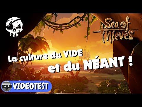 SEA OF THIEVES : la culture du vide et du néant ! TEST
