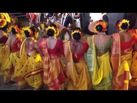 Santali Traditional Dance By Suluk Sagai Tapol Mone Group Of Burdwan University