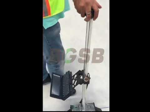 Floor profiling by BGSB using Dipstick 2272