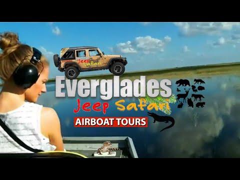 Everglades Jeep Safari Tour: AIRBOAT Ride Portion (Part II)