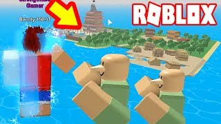 ROBLOX-Update The Super strong mermaid Steve One Piece | Steve One Piece