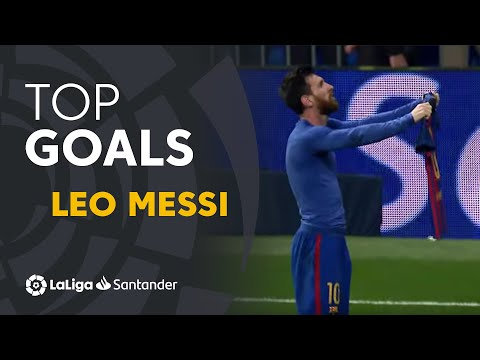 TOP 5 GOALS Leo Messi ElClásico