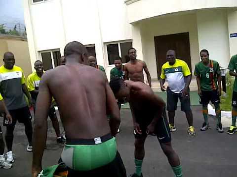Zambia squad @ AFCON 2012
