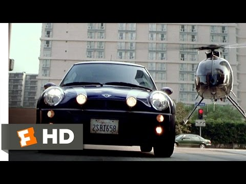The Italian Job (7/8) Movie CLIP - Helicopter Chase (2003) HD