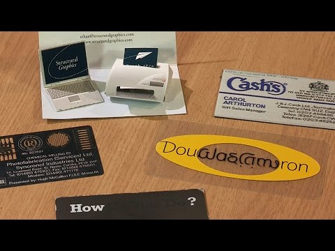 Tim's Novelty Business Cards