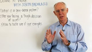 Whiteboard Session: 5 Questions to Help You Make Tough Decisions