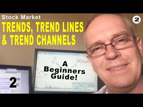Stock Market Tutorial - Trends, Trend Lines & Trend Channels