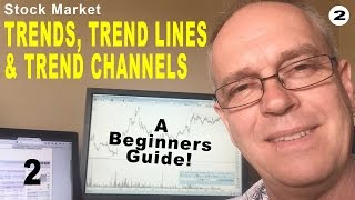 Stock Market Trends, Trend Lines & Trend Channels Tutorial