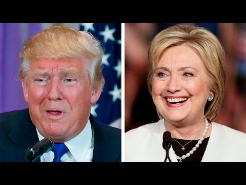 donald trump vs hillary clinton youtube. Black Bedroom Furniture Sets. Home Design Ideas