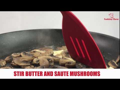How to saute mushrooms