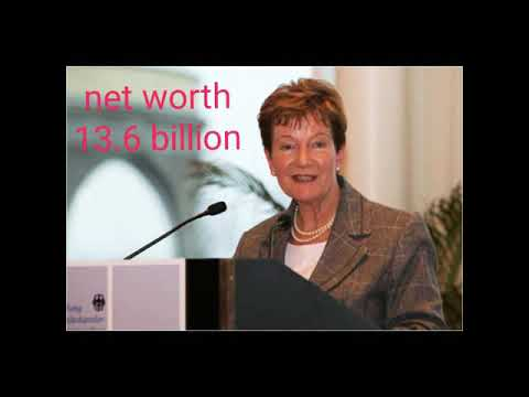 Top 10 richest women in the world and her net worth