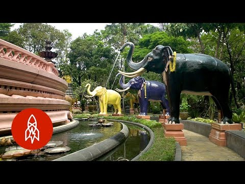 Climb Inside Thailand's Three-Headed Elephant