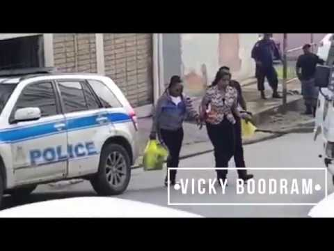 VICKY Boodram Attends Court San Fernando