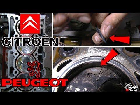 Гарантийный ремонт контрактного мотора Peugeot EP6.