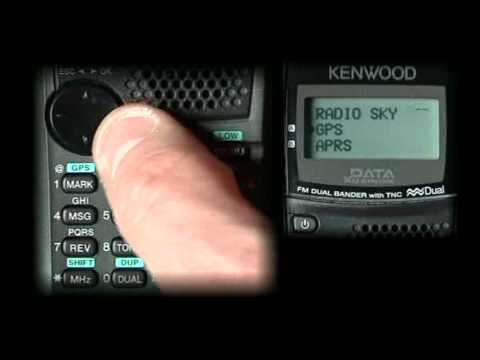 Basic setup for APRS operations with the Kenwood D72
