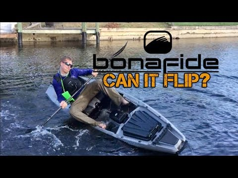 2018 Bonafide Kayak SS127:  CAN IT FLIP & IS IT FAST?