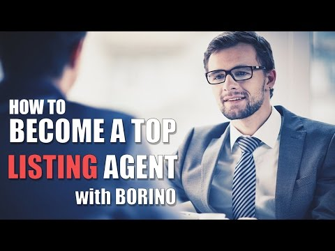 How To Become A Top Listing Agent - Real Estate Tips With Bo